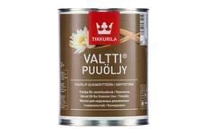 Масло Tikkurila Valtti Puuöljy для наружных деревянных поверхностей, колеруемое (0.9 л)