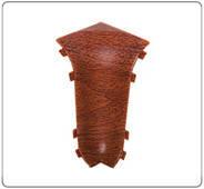 Угол для плинтуса К55 Идеал Комфорт Ясень серый/253 внутренний