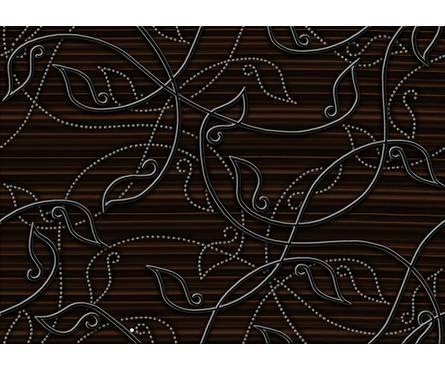 Декор коричневый Глория (250*350) 1 сорт Фотография_0