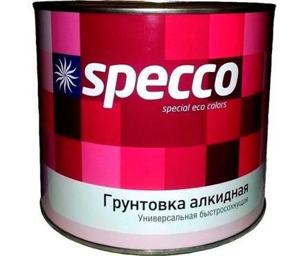 Грунтовка SPECCO ГФ-021 светло-серая 2,7 кг