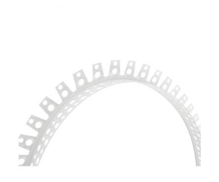 ПВХ уголок арочный перфорированный 25*25 (3м) Фотография_0