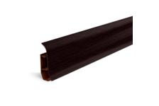 Плинтус для пола Идеал Элит Е67 Венге черный/302 (2.5 м)