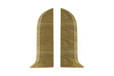 Заглушка  56 Дуб Каньон Salag торцевой (пара) (1 шт. во флоупак)