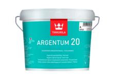 Краска ВД Tikkurila Argentum 20 антимикробная, п/матовая (9 л)