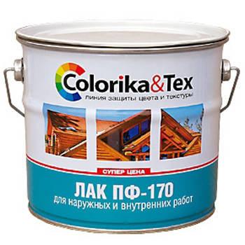 Лак ПФ-170 Colorika&Tex глянцевый 0,8кг Фотография_0