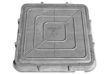 Люк легкий (685х685) (А-30/3тн) квадратный серый