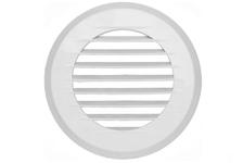 Решётка вентиляционная Планета ПКР 195/150 круглая с фланцем, д=150