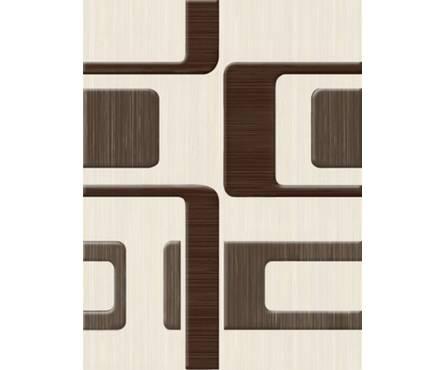 Керамическая плитка golden Tile Вельвет бежевый декор 250х330 Фотография_0