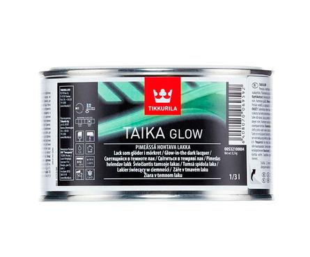 Лак Tikkurila Taika Glow светящийся в темноте (0.33 л) Фотография_0