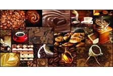 Панель ПВХ 955*480 мм Grace Мозаика Аромат кофе