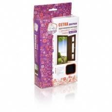 Сетка-штора на дверь противомоскитная HELP с крепежной лентой 45*210 см 2 шт. в уп. Фотография_0