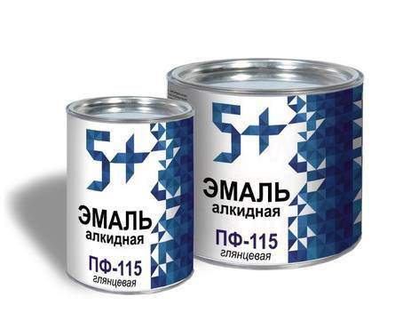 Эмаль серая 5+ ПФ-115 2,7 кг Фотография_0