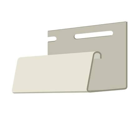 J-профиль ДЁКЕ (Слоновая кость) 3005 мм