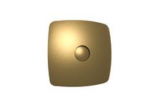 Вентилятор вытяжной Era RIO 4C champagne осевой, с обратным клапаном, 98 мм