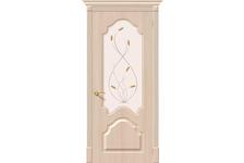 Дверь ПВХ BRAVO Скинни-33, Беленый дуб 30-П, 200*80 см, ОП