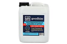 Противоморозная добавка Goodhim Frost Premium до -25°С для теплого пола с пластификатором (10 л)