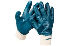 Перчатки ЗУБР с полным нитриловым покрытием, XL