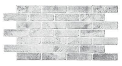 Панель ПВХ 960х480мм Кирпич старый серый