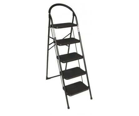 Стремянка-стул с широкими ступенями 5 ступ. Фотография_0