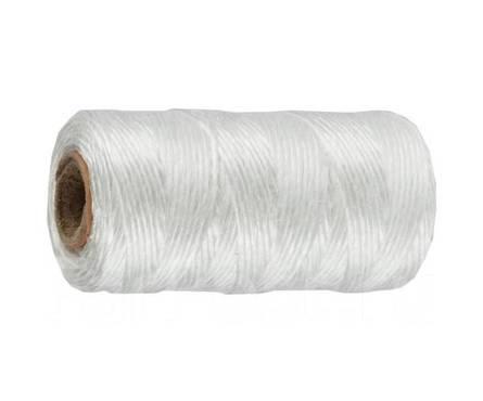 Шпагат полипропиленовый STAYER, 1.5мм*60м, 800 текс, цвет белый Фотография_0