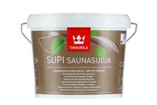 Лак для саун Tikkurila Supi Saunasuoja полуматовый, бесцветный (2.7 л)