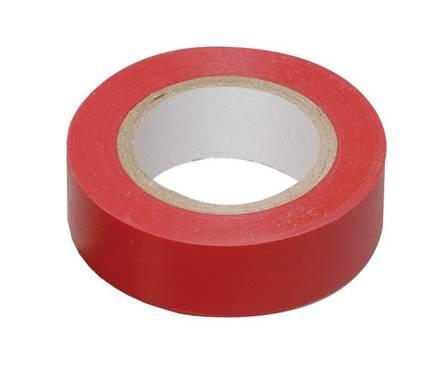 Изолента ПВХ красная 15мм*20м (ИЭК) Фотография_0