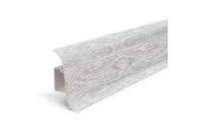 Плинтус для пола Идеал Альфа К45 Ясень серый/253 (2.5 м)