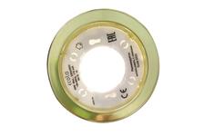 Светильник Ecola GX53 H6, встраиваемый, 220V, золото