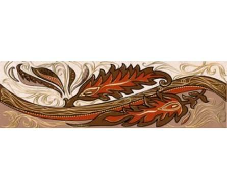 Плитка керамическая Golden Tile Александрия бежевый фриз 200х60 Фотография_0