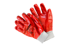 Перчатки полиэстеровые Fiberon, полный облив, размер XL