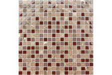 Мозаика Caramelle Mosaic Naturelle Qaradag 305х305х4 мм, чип 15*15 мм