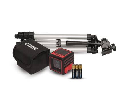 Нивелир лазерный ADA Cube Professional Edition батарея,штатив,нейлоновая сумка Фотография_0