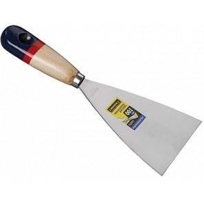 Шпательная лопатка STAYER MASTER 80 мм c деревянной ручкой Фотография_0