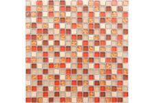 Мозаика Caramelle Mosaic Naturelle Istanbul 305х305х4 мм, чип 15*15 мм