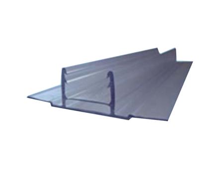 Профиль соединительный база HCP-D 6-10 мм, прозрачный, 6 м, БСТ Фотография_0