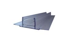 Профиль соединительный база HCP-D 6-10 мм, прозрачный 6 м БСТ