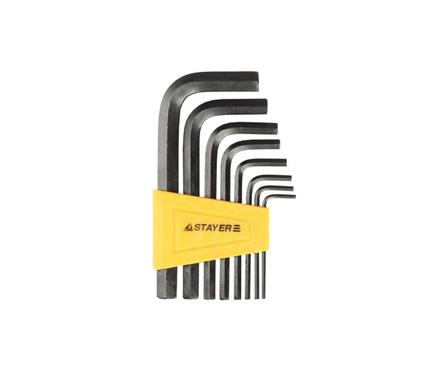 Набор ключей имбусовых STAYER 2-10 мм, 8 шт Фотография_0