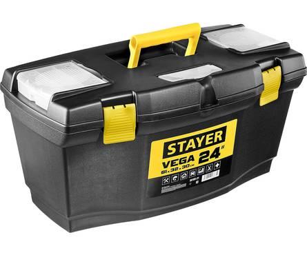 Ящик для инструмента STAYER VEGA-21, пластиковый Фотография_0