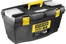 Ящик для инструмента VEGA-24, пластиковый, STAYER
