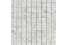 Мозаика Caramelle Mosaic Pietrine Dolomiti Bianco матовая, 305х305х4 мм, чип 15х15 мм