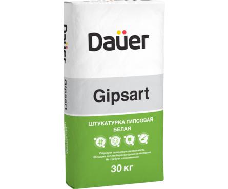 Штукатурка DAUER Gipsart гипсовая белая 30кг (40) Фотография_0