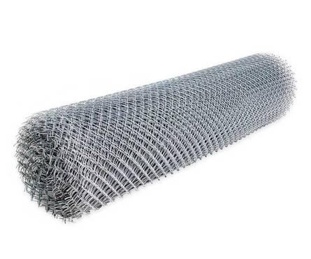 Сетка-рабица 55х55х1,6 (2,0х10) оцинк. (20м2) Фотография_0