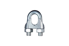 Зажим для троса DIN741 оцинкованный, диаметр 3 мм (упак 5 шт)