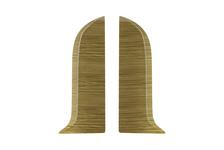 Заглушка  56 Пиния Salag торцевой (пара) (1 шт. во флоупак)