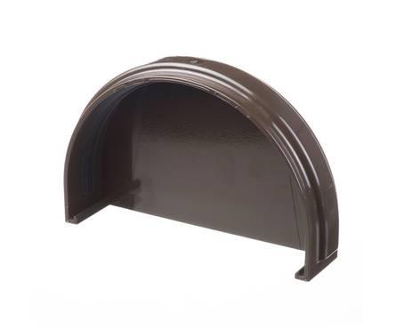 Заглушка желоба Дёке (шоколад)