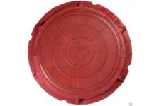 Люк полимерно-песчаный тип С 750/110 мм (красный) 7т