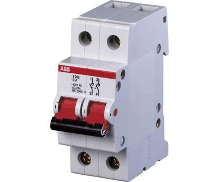 Выключатель автомат. ABB C 63A SH201L-4.5 2-полюсн. Фотография_0