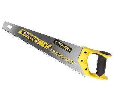 Ножовка по дереву STAYER MASTER ТАЙГА 400мм, пласт. ручка, прямой крупный зуб
