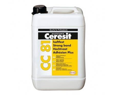 Адгезионная добавка CERESIT СС81 для цементных растворов 10л Фотография_0