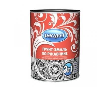 Грунт- эмаль  по ржавчине шоколад РАСЦВЕТ 1,9 кг